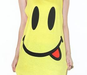 Smiley Face Yellow S..